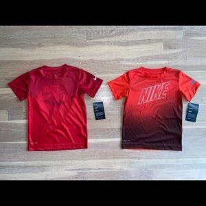 Bundle Of Boys Nike Drifit Tshirts Size 4T Nwt
